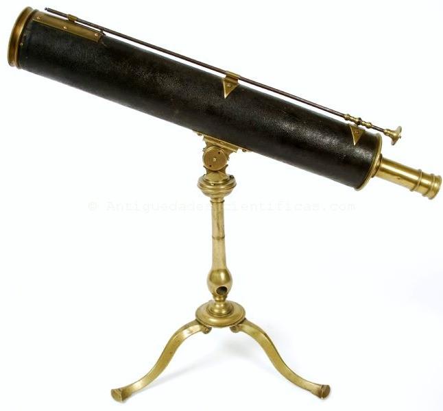 Telescopio Siglo Xviii Globos Antiguos Antig 252 Edades