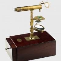 microscopio chevallier siglo XVIII
