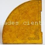 Cuadrante astrolabio islámico XVIII