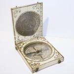 Reloj de sol  Charles Bloud c.1660