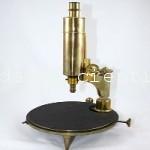 microscopio antiguo  nachet s.XIX