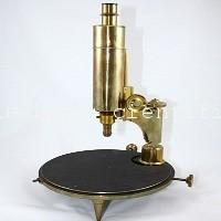 microscopio antiguo nachet