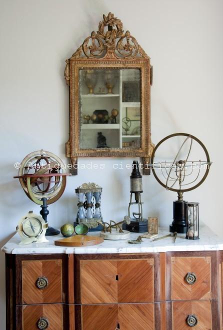 Instrumentos científicos antiguos