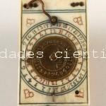 Reloj de sol diptico Karner c.1700 (Nuremberg)