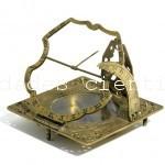 Reloj de sol siglo XVIII