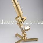 Microscopio compuesto antiguo