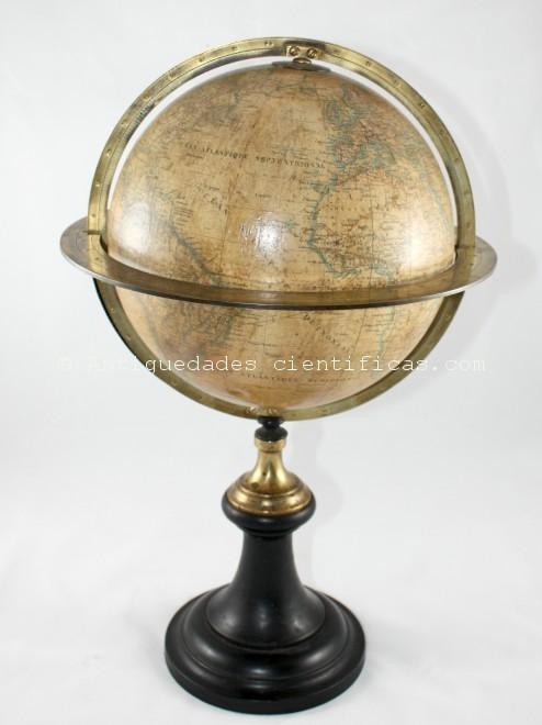 globo-terrestre-antiguo-delamarche