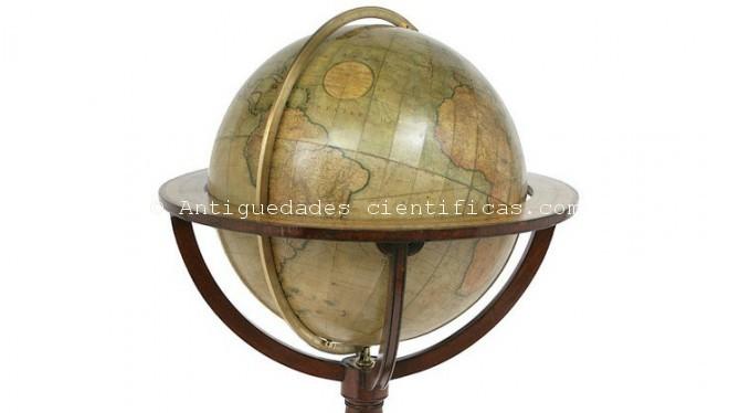 globo-antiguo-terraqueo-globo-biblioteca