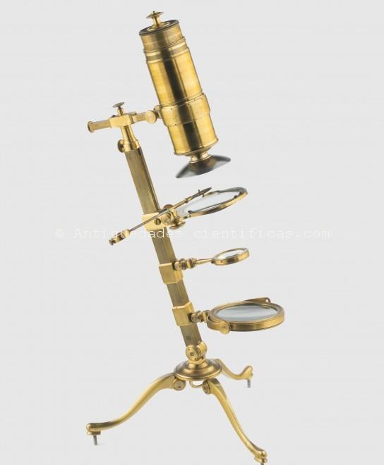 microscopio compuesto dellebarre