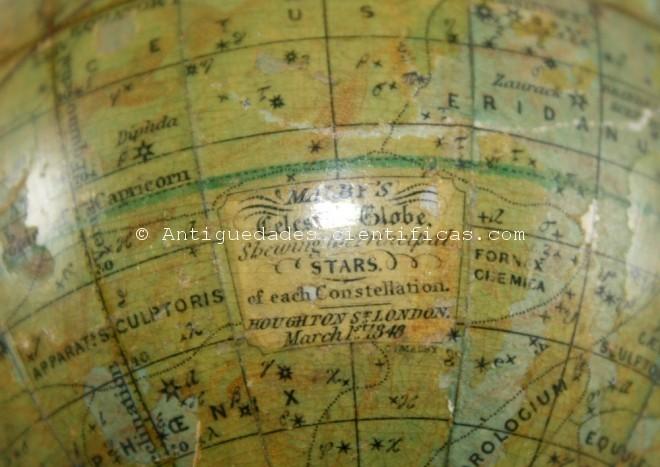 globo celeste de viaje