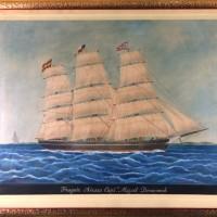 retrato náutico barco
